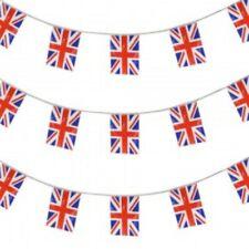 Union Jack Flag Bunting Pennant Royal Wedding Street Party Decoration 33ft 66ft