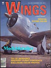 Wings Magazine V8 N6 Northrop A-17A Boeing B-17G Curtiss A-18 RF-82 Betty Joe
