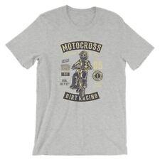 Moto Cross T-Shirt. 100% Cotton Premium Tee NEW