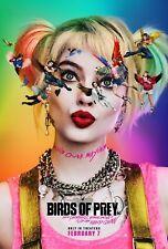 Harley Quinn Movie Birds of Prey New 2020 Art 21 24x36 Fabric Silk Poster K-86