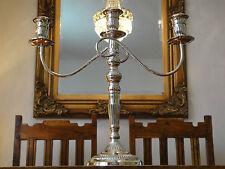 Kandelaber Silber Jugendstil Kerzenleuchter Antik Kerzenhalter Kerzenständer NEU