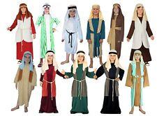 Child Shepherd Fancy Dress Costume Christmas Joseph Innkeeper Nativity Kids
