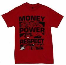 Marvel Comics Money Power Respect Adult Red T-Shirt