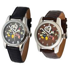 Walt Disney Automatik Uhren 3 ATM Motiv Mickey & Minnie Mouse Swarovski Steine