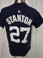 Majestic MLB Youth Boys New York Yankees Giancarlo Stanton Shirt LOOK S,M,L,XL