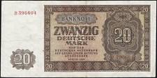 Ro.344a 20 Deutsche Mark 1948 Serie A-Z