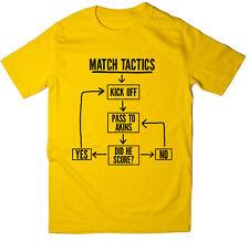 Match tácticas, pasar a buscar-Gracioso Burton Albion FC Fútbol T-Shirt