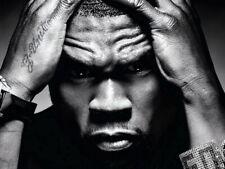 50 Cent Amazing Portrait Hip Hop Music Singer Giant Wall Print POSTER