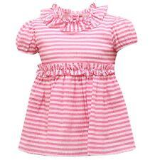 8821R maglia bimba IL GUFO fuxia/bianco top t-shirt kid