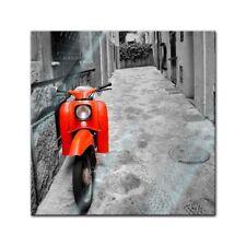 Glasbild - Retro Roller