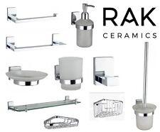 RAK Accessories - Paper Holder - Soap Dispenser - Grab Bar - Towel Rail - Brush