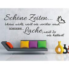 Wandtattoo Spruch   Schöne Zeiten Lache Du Wandsticker Wandaufkleber Sticker 7