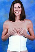 "Abdominal Binder 9"" Male/Female Compression Garment"
