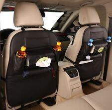 2 x Leather Car Van Travel Kids Hanging Multi Functional Storage Organiser