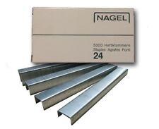 Nagel 24 Heftklammern 6-18 mm * inh. 5.000 Stück Klammern