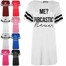 Ladies Baggy Short Sleeve Nightie Night Dresses Womens Sleepwear PJ Shirt Dress