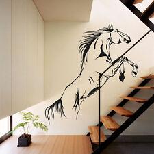 Jumping cheval wall art autocollants vinyl-decal maison élégantes graphiques salon chambre