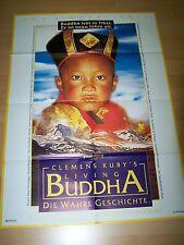 LIVING BUDDHA - Kinoplakat A1 - CLEMENS KUBY