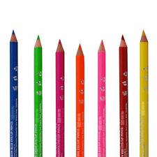 Saffron NEON Eyeliner Lip Liner Bright Colour Eye Pencil