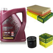 Ölwechsel Set 5L MANNOL Energy Combi LL 5W-30 MANN Inspektions Service 10043577