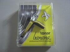 Tonar Banana (made by Ortofon) NEU Concorde DJ System NEW Cartridge Gelb Yellow