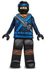 Brand New Ninjago Jay Movie Prestige Child Costume