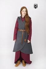 moyen-âge Robe porte-feuille Dala / LARP - Gris Foncé