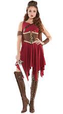 Sexy Starline Hooded Huntress Red Gauze Cincher Dress Costume S6133