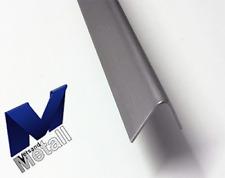 1,0m Edelstahlwinkel V4A (316L) Winkel 45° L 1000mm AUSSEN Schliff K320