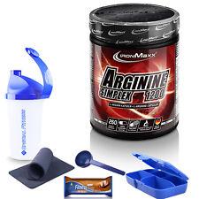 89,56€/kg ++ IronMaxx - Arginin Simplex 1200, 260 Kapseln à 1250mg ++