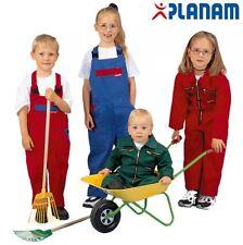 Kinderlatzhose Hose Junge Mädchen Kinderoverall Einteiler blau rot grün Babyhose
