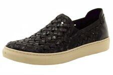 Donald J Pliner Men's Karter-WZ Slip On Black Sneakers Shoes