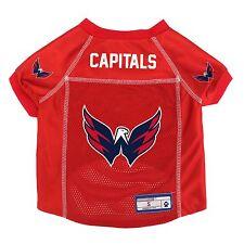 Washington Capitals NHL Pet dog jersey shirt (all sizes) NEW