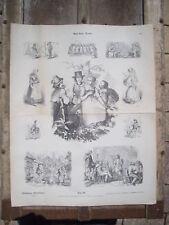 MUNCHENER BILDERBOGEN Circa. 1880/1890 PLANCHE Nr 091