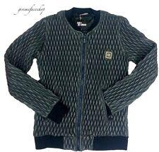 Time is Money club jacket, Mens PU leather urban g designer sports zip Biker BLU