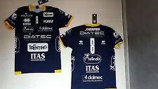 Fw16 errea ITAS DIATEC TRENTINO Chiappa 8 Jersey Shirt Volley Volleyball B