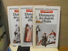 DIZIONARIO DEI DIALETTI D'ITALIA - 3 VOLL.    (M14)