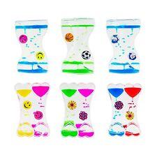 Magic Water Timers Dual Color Desk Fidget Sensory Autism Calming Oil Timer Toy