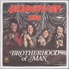 "BROTHERHOOD OF MAN Vinyl 45 tours SP 7"" HIGHWAYMAN STAR  PYE RECORDS 140313 RARE"