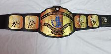 WWE Black Intercontinental Championship Belt Adult Size A Grade Quality Plates