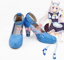 Nekopara Chocola Vanilla Cat Maid Shoes Cosplay Shoes