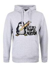 PSYCHO Penguin non solo una persona persone Felpa con cappuccio Uomo Grigio