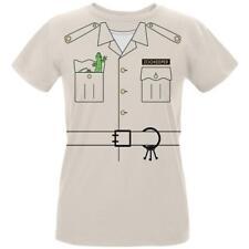 Halloween Zookeeper Costume Womens Organic T Shirt