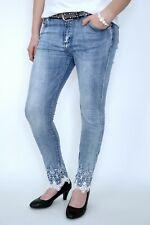 Damen Jeans Jeanshose Hose Übergröße Gr 38-48 Stretchjeans Big Size Blau