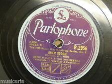 78 rpm GENE KRUPA drum boogie / the big do