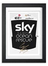 Geraint Thomas Team Sky 2018 Poster Impression Photo Signée Autographe Tour de France