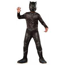 Black Panther Costume Kids Superhero Halloween Fancy Dress