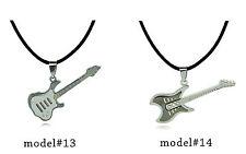 Titanium Pendant Rock Guitar Ciondolo/pendente rock chitarra in titanio #CU13-14
