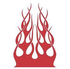 FLAME HOOD #H49 DECAL VINYL GRAPHIC CAR TRUCK VEHICLE FIRE  AUTO VAN SUN BLAZE
