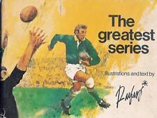 All blacks à l'Afrique du Sud 1970 rugby Livre papenfus